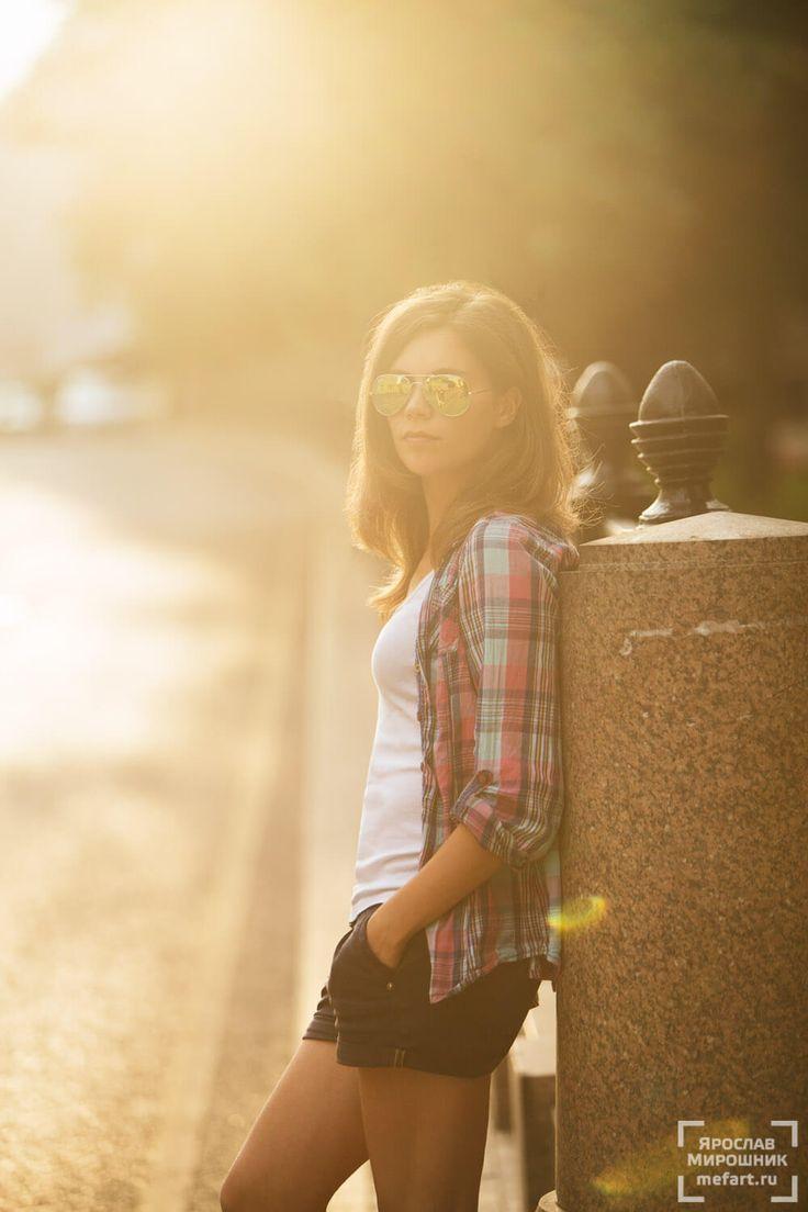фотосессия на улице летом