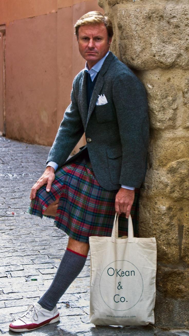 El estilo escocés y deportivo toda una #tendencia #moda #zapatillas