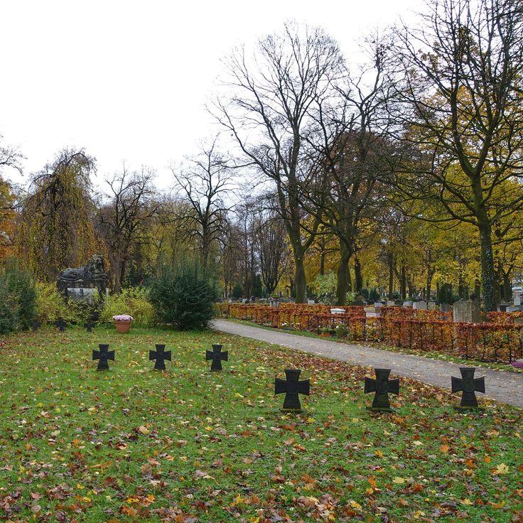 munich | germany | münchen | deutschland | giesing | ostfriedhof | day of mourning | wir denken heute an die opfer von gewalt und krieg, an kinder, frauen und männer aller völker