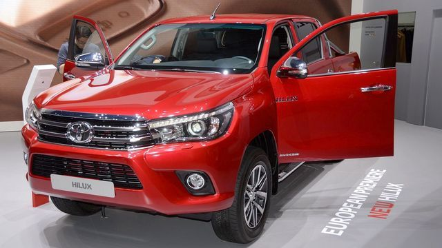 Genève 2016 live : Toyota Hilux