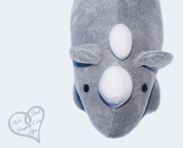 DIY Stuffed Animal Rhino rhinoceros toy Tutorial and Pattern  February 2015