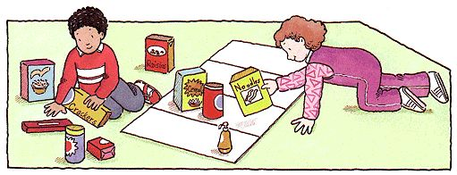 Old Mother Hubbard: Sorting activity