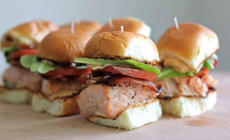 salmon blt sliders with chipotle mayo chipotle mayo recipe chipotle ...
