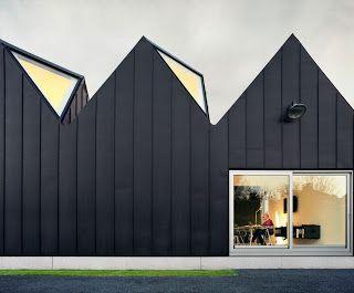 a f a s i a: NU architectuur Black Zinc Cladding