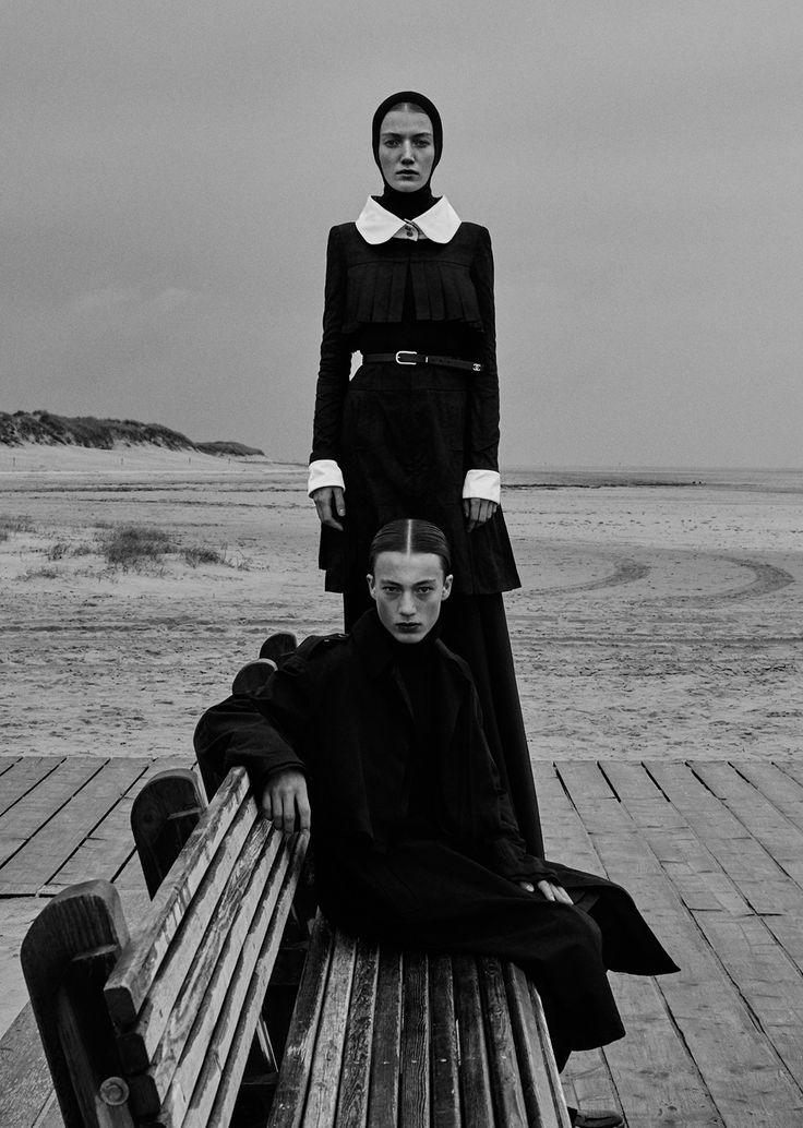 """leah-cultice: """" Lou Schoof & Nils Schoof by Elizaveta Porodina for Vogue Ukraine Nov 2015 """""""