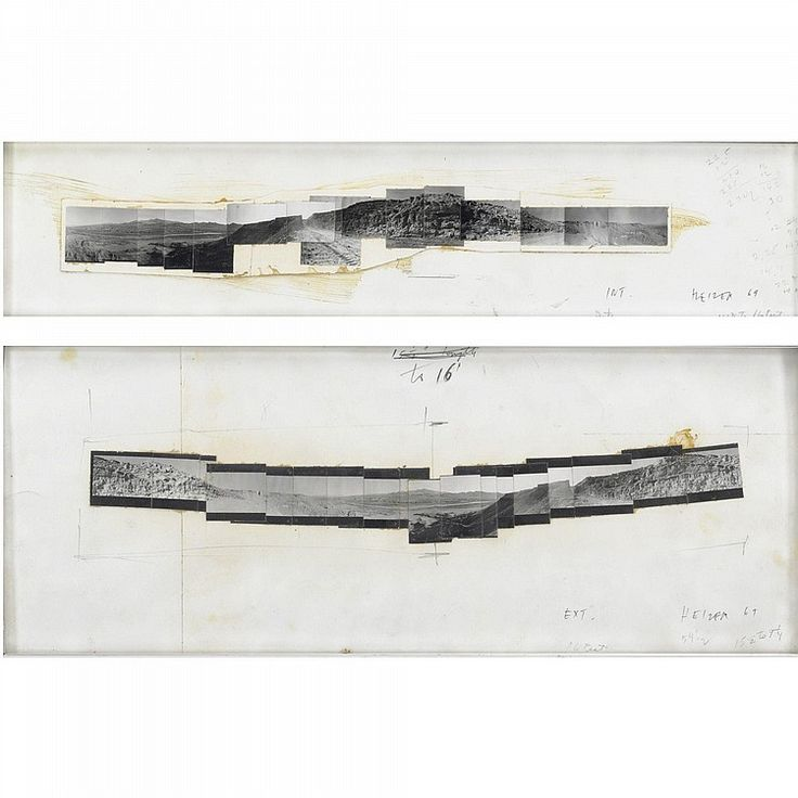 Michael Heizer, Double Negative, 1969