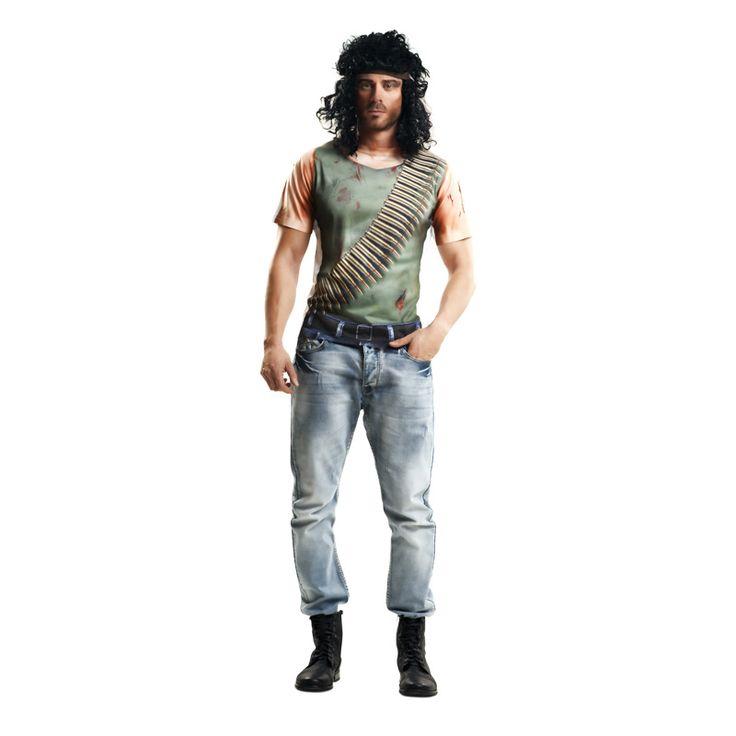 T-shirt John Rambo  #tshirtcostume #tshirt3D #DéguisementRéaliste