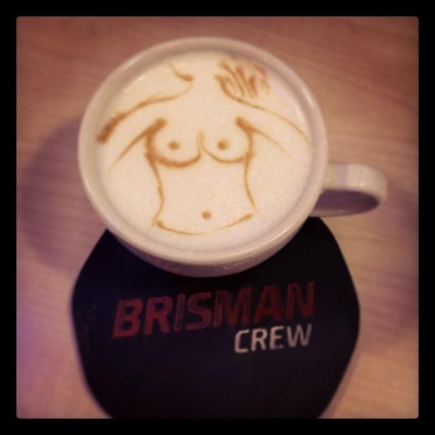 Found on Starpin. Brisman Kawowy Bar #Poznan #coffee