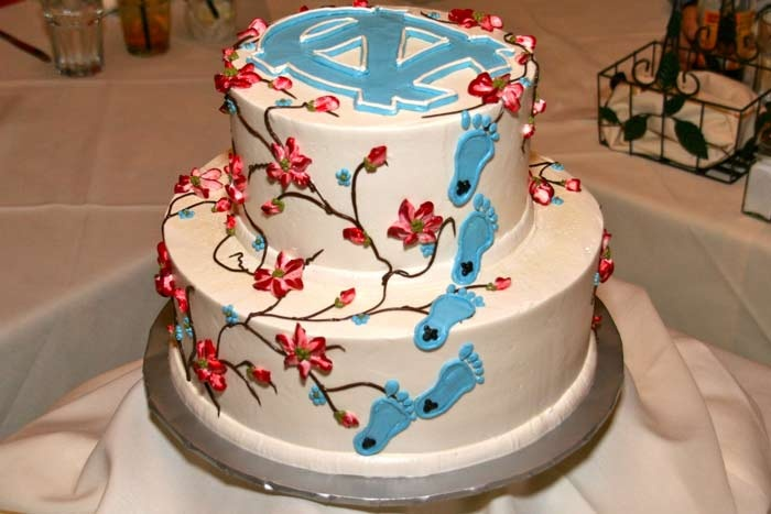 UNC cake: Heels Cakes, Cakes Ideas, Birthday Parties, Amazing Cakes, Carolina Cakes, Unc Cakes, Wedding Cakes, Parties Ideas, Grooms Cakes