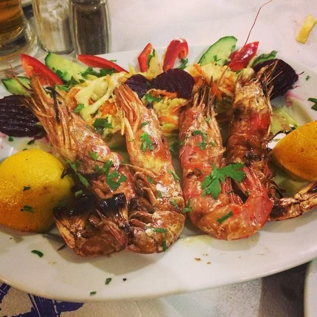 Feeling hungry? #Santorini #Food #Seafood photo by @agnes_s_bae