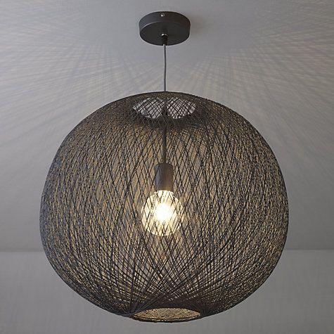 Buy John Lewis Granville Grey String Pendant Light Online at johnlewis.com
