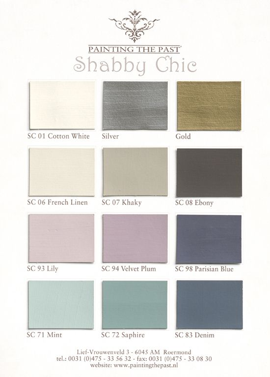 painting the past (shabby chic).