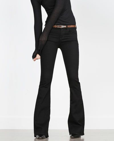 Image 5 of FLARED JEANS from Zara
