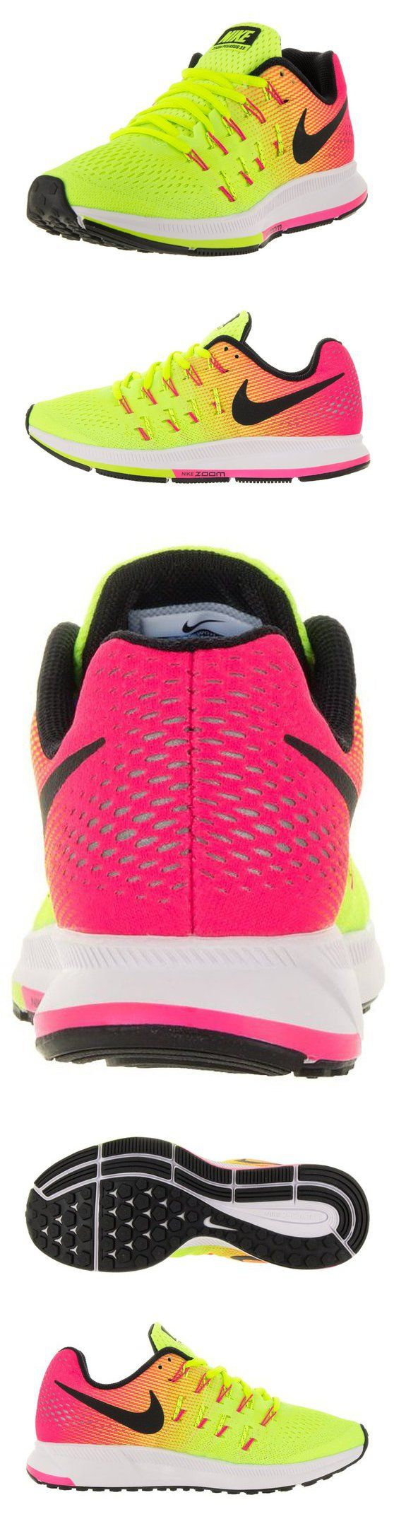 $110 - Nike Women's Air Zoom Pegasus 33 OC Multi Color/Multi Color Running Shoe 9 Women US #shoes #nike #2016