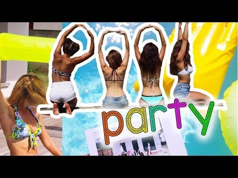 Comment organiser une POOL PARTY: DIY, bar, maillot - YouTube