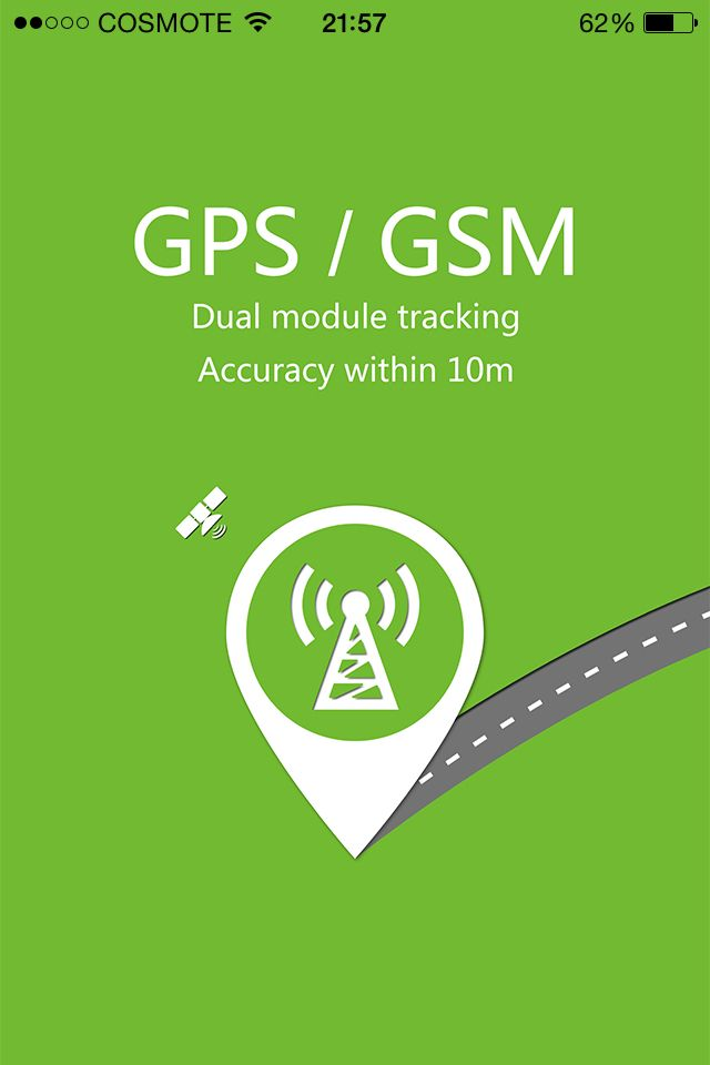 New app for Gps tracking