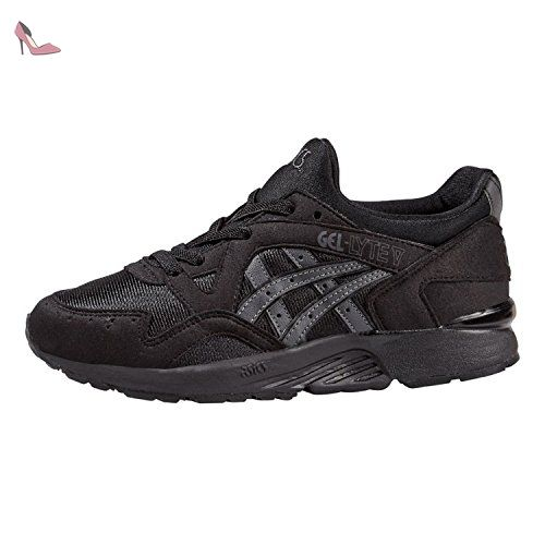 GT-1000 6, Chaussures de Running Homme, Noir (Black/Safety Yellow/Black 9007), 46.5 EUAsics