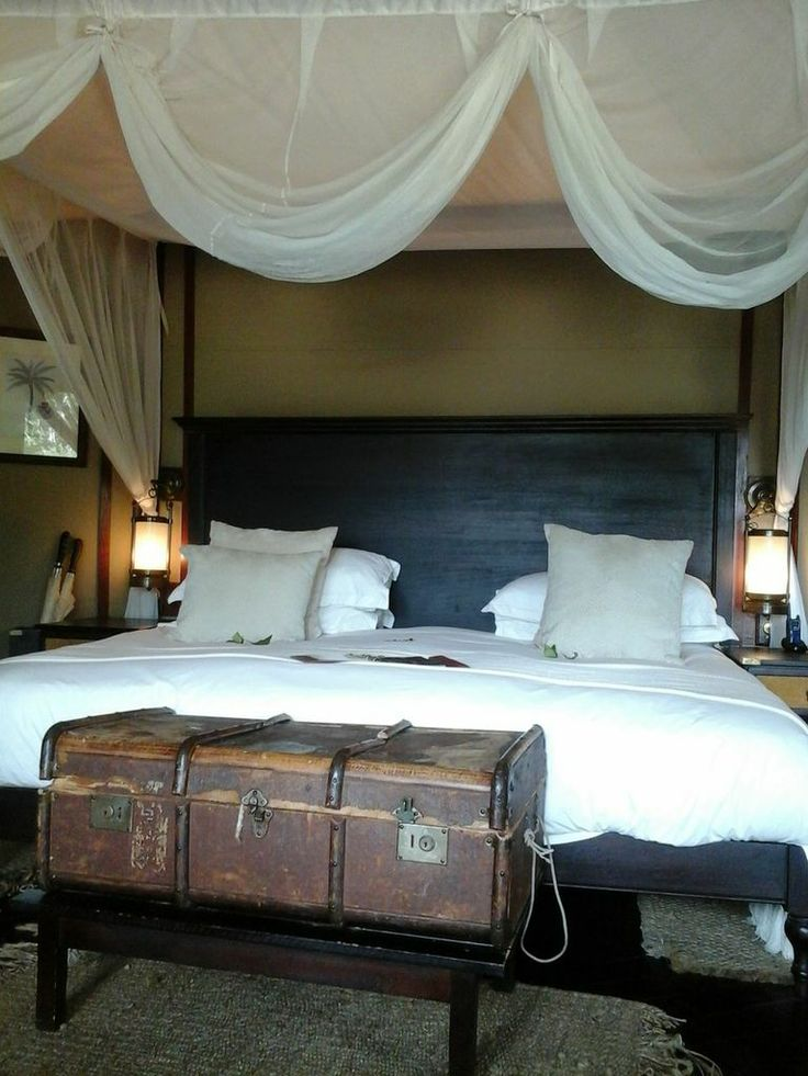 A room at Hamiltons Tented Camp in Mpumalanga, South Africa.