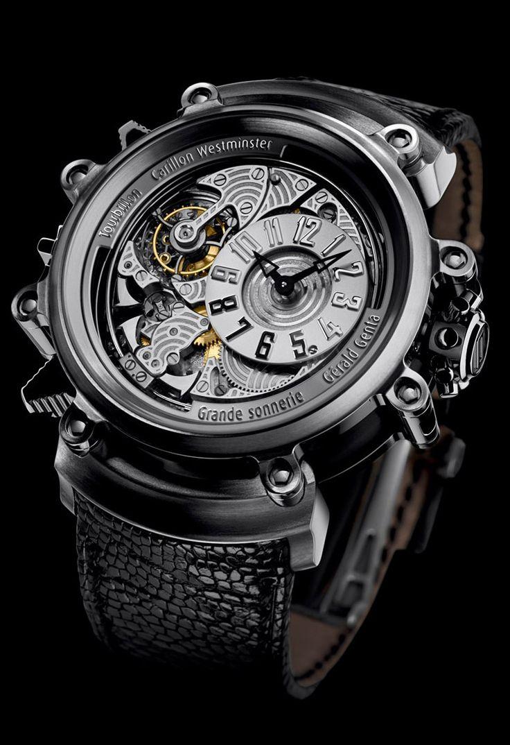 Gerald Genta Arena Metasonic Luxury Designer Watch