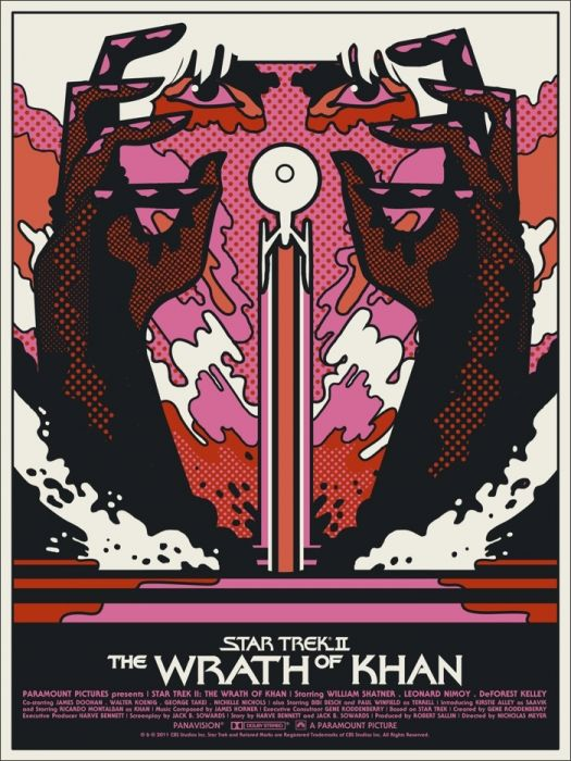 Star Trek II - Wrath of Khan (1982) <--- This looks like it inspired Mondo.