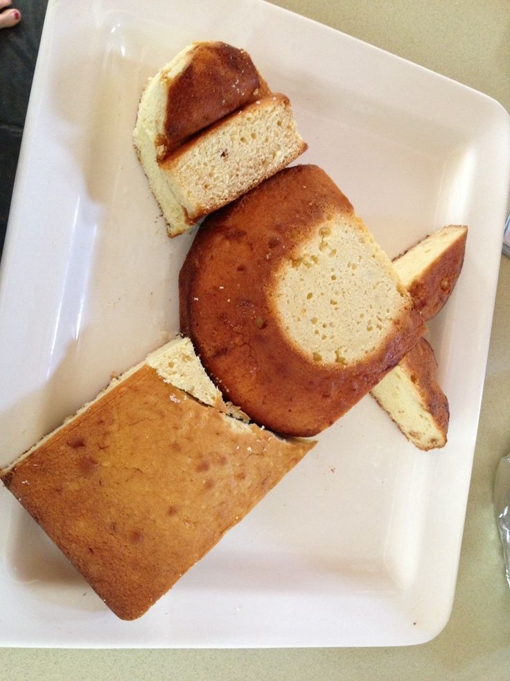 How to make a horse shaped cake
