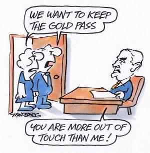 Ian McDonald lacks wit to realise he's an embarassment #auspol Illustration: Ron Tandberg