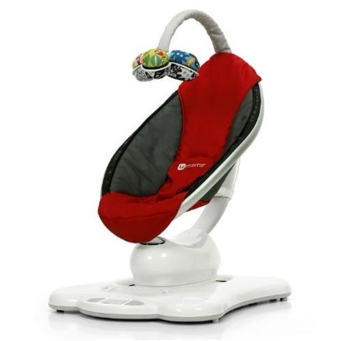 4 Moms MamaRoo Baby Bouncer Seat Red 2014