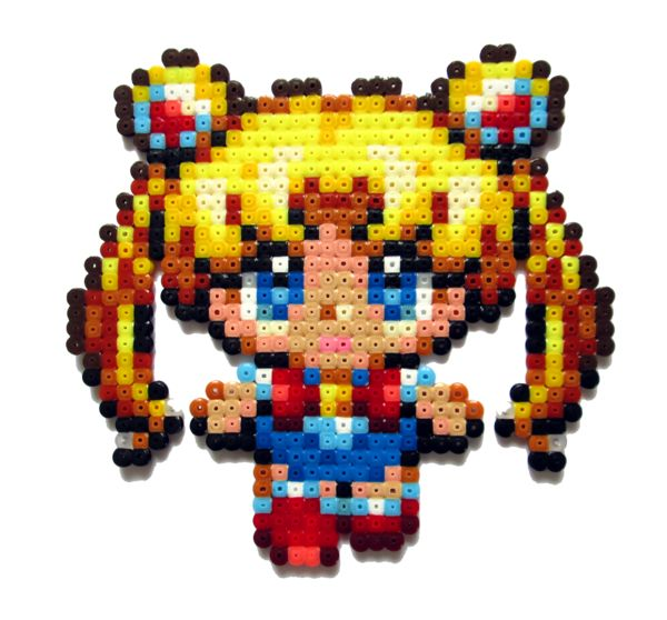 Little Sailor Moon hama perler beads by Aenea-Jones on deviantART