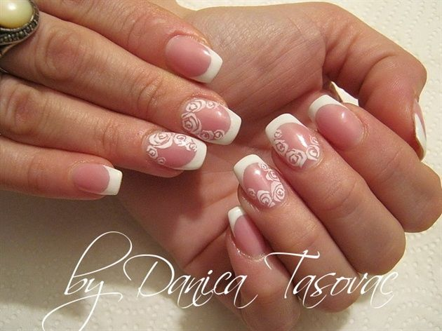 Wedding Nails Bridal Nail Designs Manicures Today Com - 200 Best Bridal Wedding Nail Art Images On Pinterest Wedding