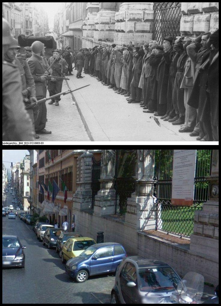 #23Marzo1943 #PALAZZO BARBERINI  Rastrellamento Attentato di Via Rasella Roma