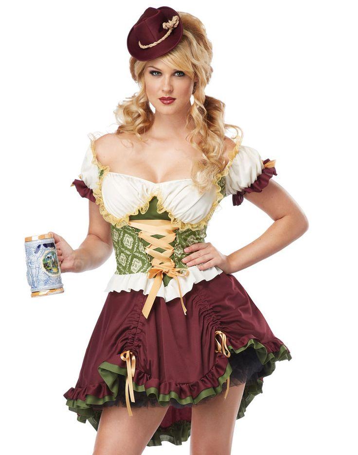 Adult sexy beer garden girl costume
