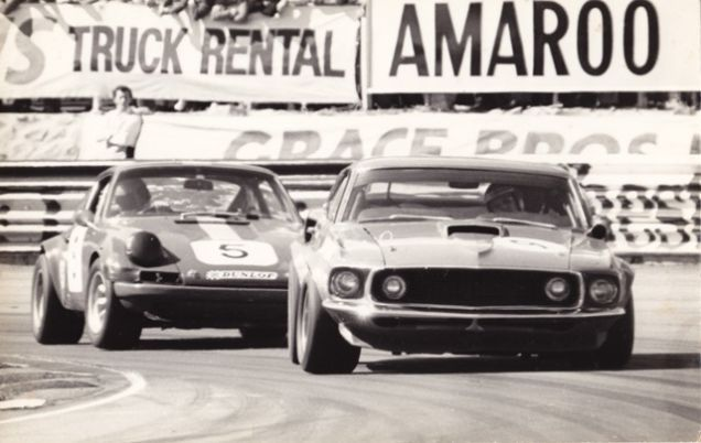 Greatest Trans Am Car, whooping that European Porsche and there's probably a Corvette behind that.