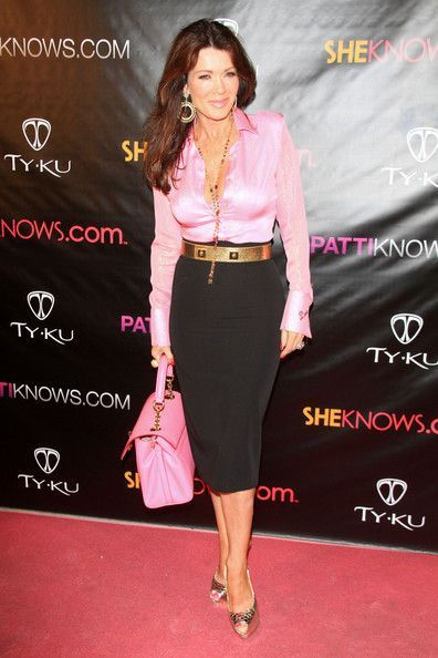 """Lisa Vanderpump Photos: """"Real Housewives of Orange County"""" star Alexis Bellino at a birthday event for Patti Stanger at Koi in West Hollywood"""
