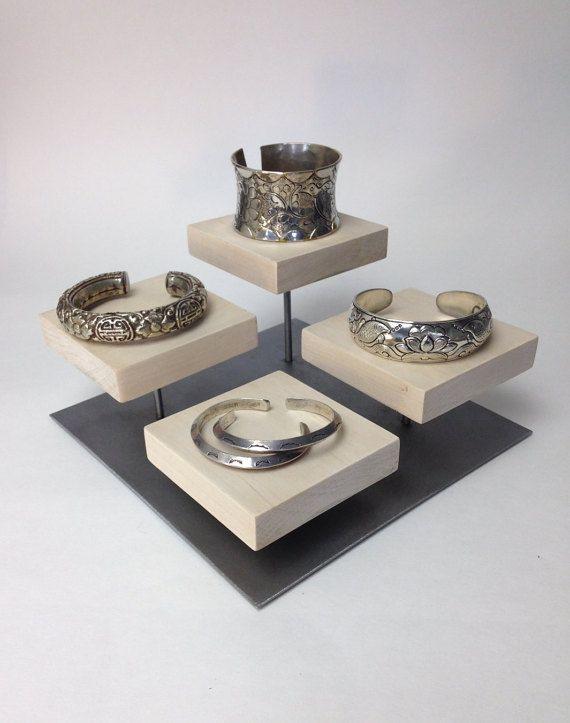 Bracelet display riser, ring display, jewelry display, craft show display, booth display, store display