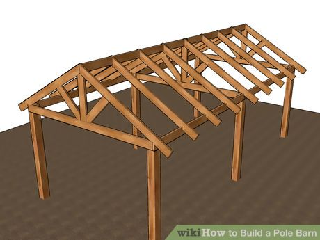 Image titled Build a Pole Barn Step 13