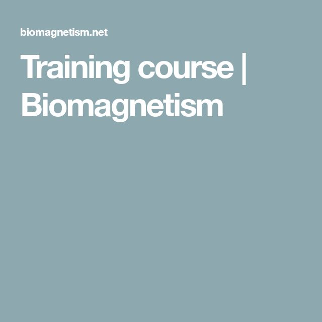 16 best bioemag images on pinterest therapy neurology and 18th training course biomagnetism training coursestherapy fandeluxe Image collections