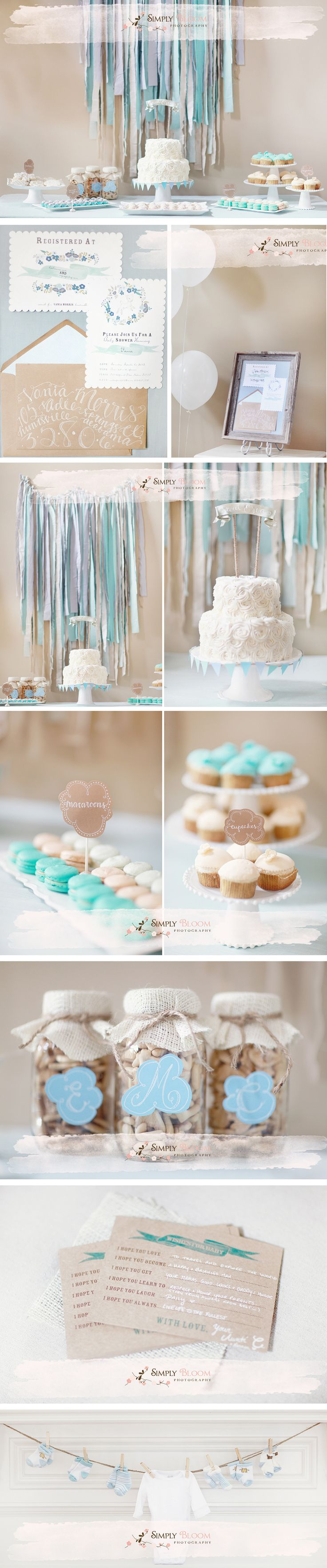 124 best Tiffany Blue Baby Shower images on Pinterest