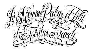 Resultado de imagen para letras tattoo