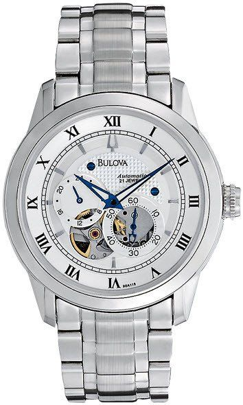 @bulova  Watch Open Aperture Automatic #2015-2016-sale #bezel-fixed #black-friday-special #bracelet-strap-steel #brand-bulova #bulova-core-line #case-depth-11-2mm #case-material-steel #case-width-42mm #dial-colour-silver #fashion #gender-mens #movement-automatic #official-stockist-for-bulova-watches #packaging-bulova-watch-packaging #sale-item-yes #style-dress #subcat-mechanical #supplier-model-no-96a118 #vip-exclusive #warranty-bulova-official-3-year-guarantee #water-resistant-30m