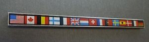 1984 1985 1986 1988 oldsmobile cutlass ciera international series flags emblem - Categoria: Avisos Clasificados Gratis  Item Condition: UsedPart: Genuine 19841988 OLDSMOBILE Cutlass Ciera International Series Flags EmblemCondition: Good Aspictured Presents well installed This is the scarcer metal version not the plastic decal type applied on post 1989 Ciera Install using automotive emblemtrim adhesiveRestore & Repair With Original GM PartsCopyright 201020XX ILOVETHISDEALPlease read selling…