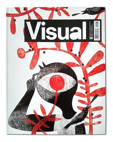Cover for Visual Magazine - Mar Hernández