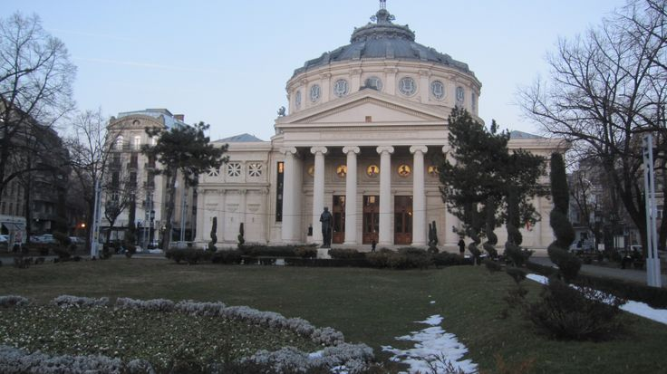 The Athenaeum in Bucharest, a concert hall with one of the best acoustics in the world, key attraction in the Romanian capital