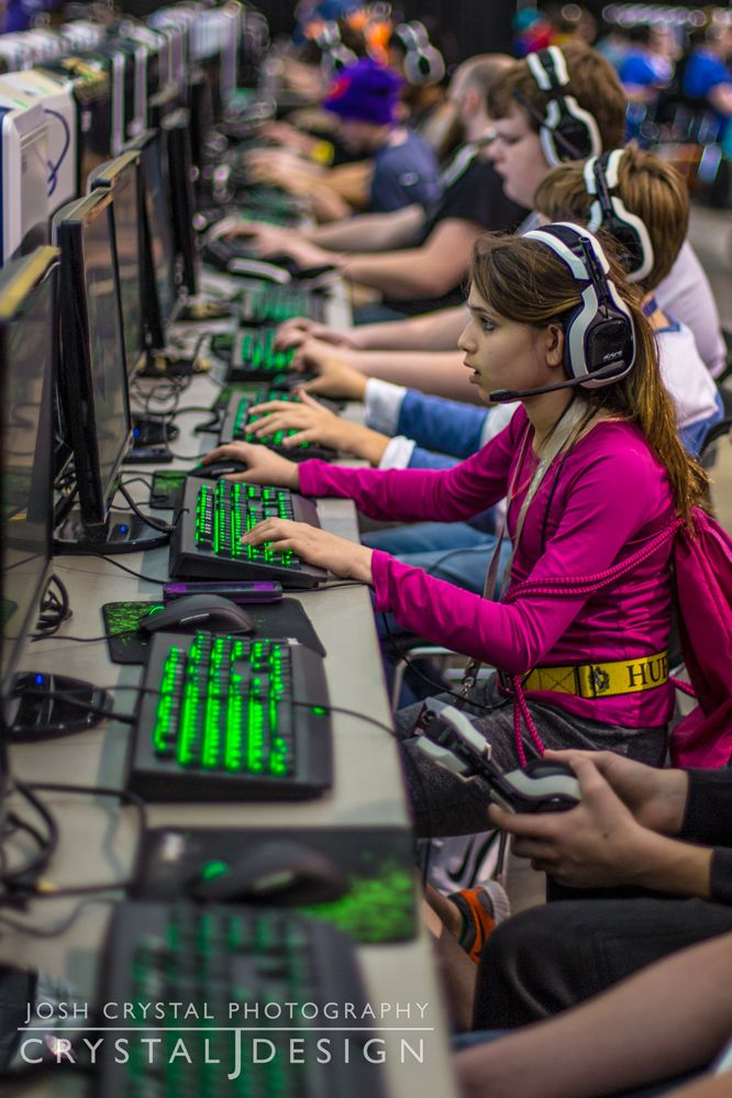 Minecraft tournament from PAX East 2014