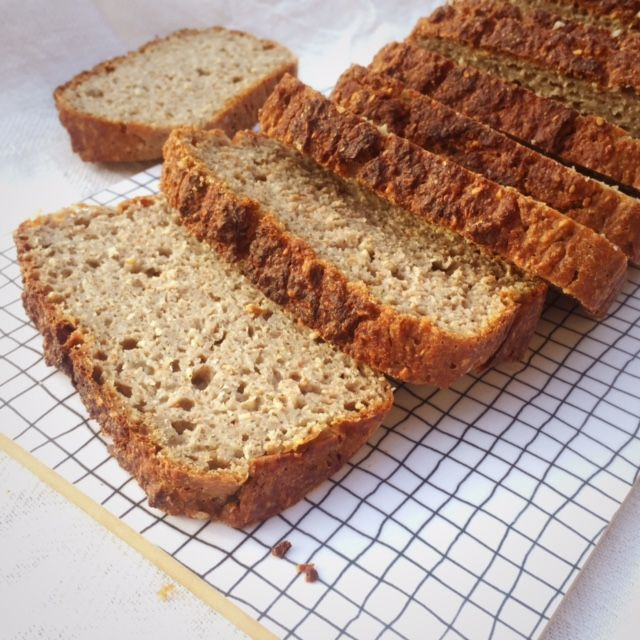 Surdegslimpa av hel bovete (naturligt glutenfri) Superenkel att göra 1