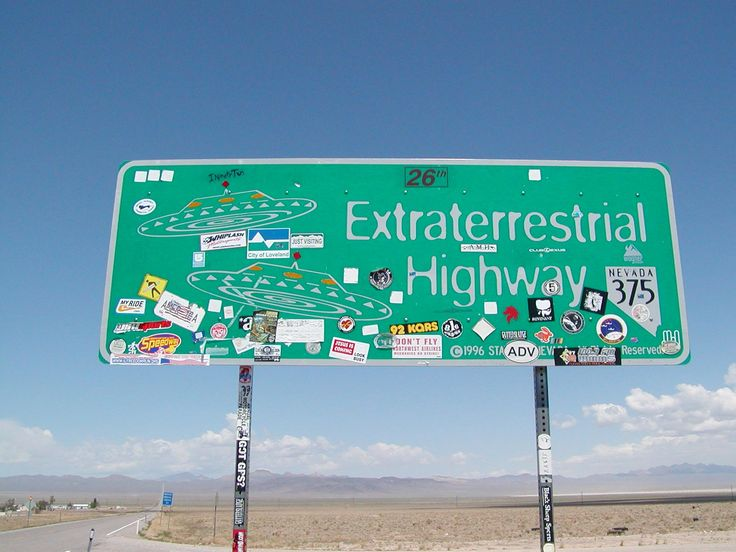 Visting the Extraterrestrial Highway & Area 51, NV