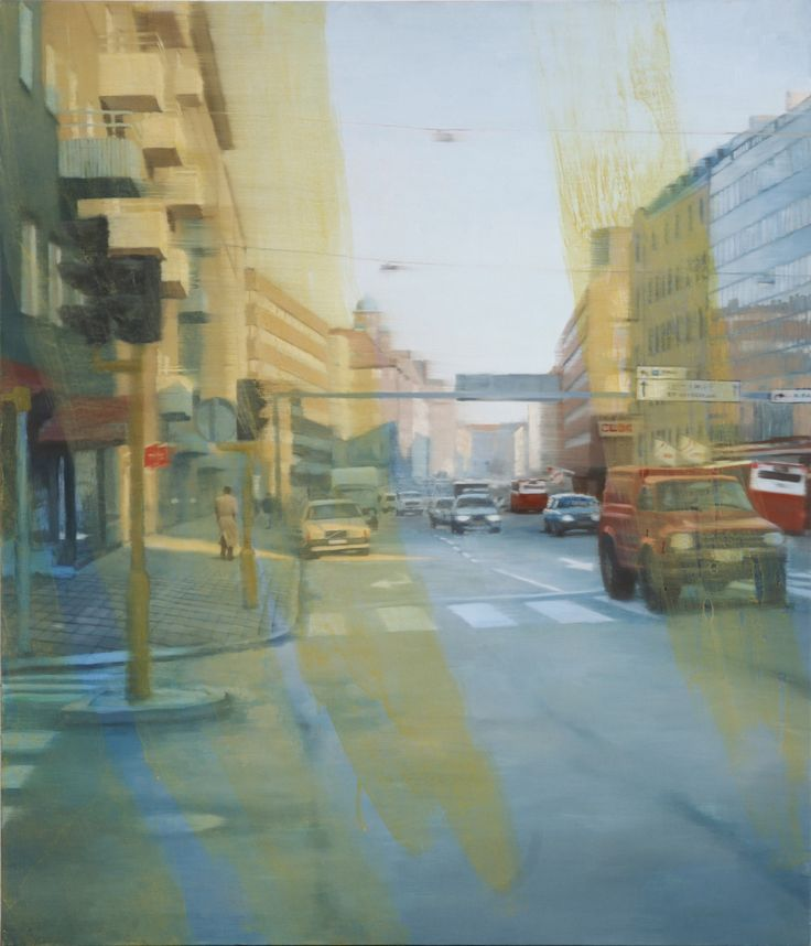 Fredrik Landergren, artist/konstnär, based in Stockholm. Official website showing paintings, portraits, and mosaic works in public spaces. @portfoliobox