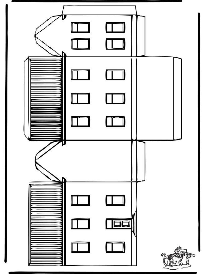 casitas recortables y mobiliario pinterest. Black Bedroom Furniture Sets. Home Design Ideas