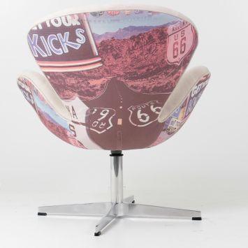 Compre Poltrona Swan Impressao e pague em até 12x sem juros. Na Mobly a sua compra é rápida e segura. Confira!