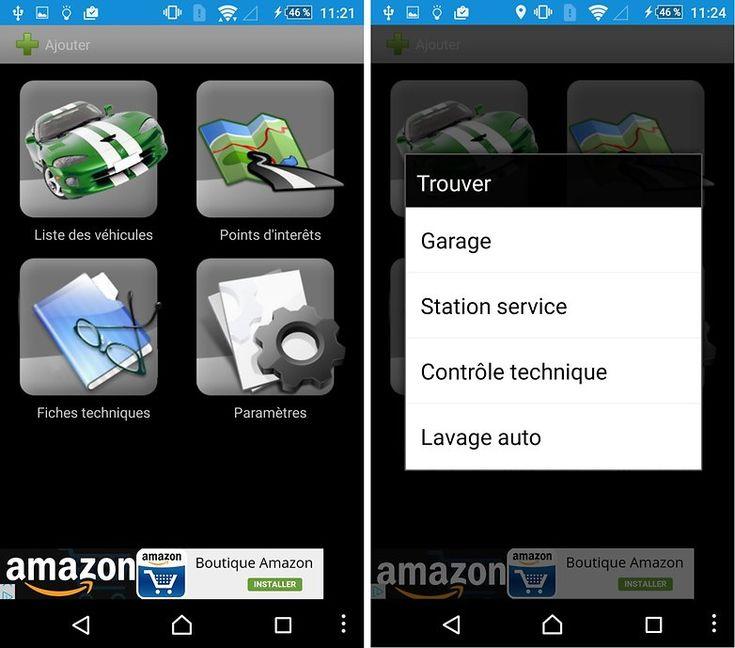 ConsoBox : application qui s'occupe de vos révisions, vous informe aussi des garages, stations-service et lavage auto à proximité.