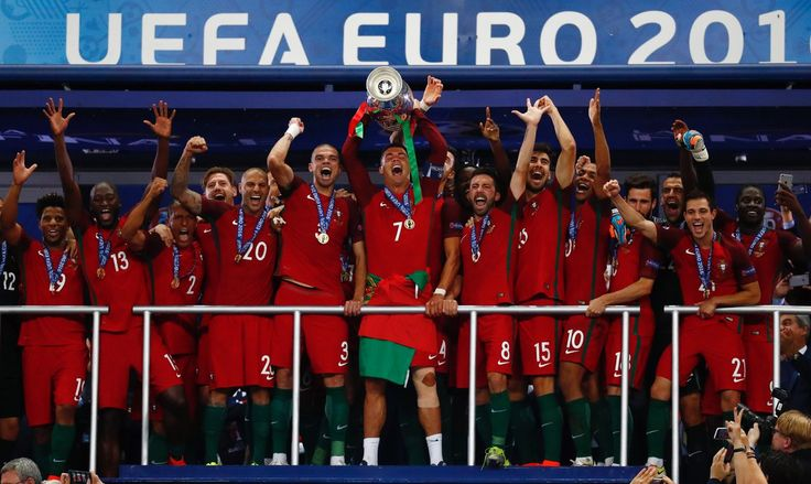 Portugal 2016 Euro - champion